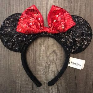 Disney| Minni Mouse ears sequin headband